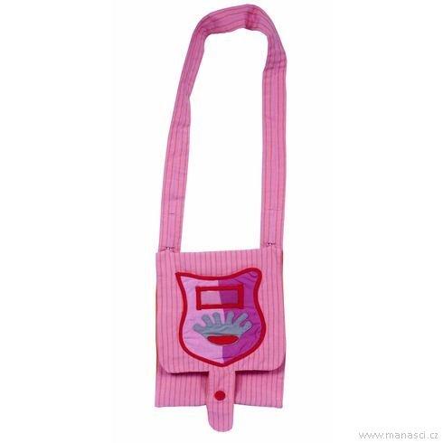 Dětská taška přes rameno panenka - Maňásci