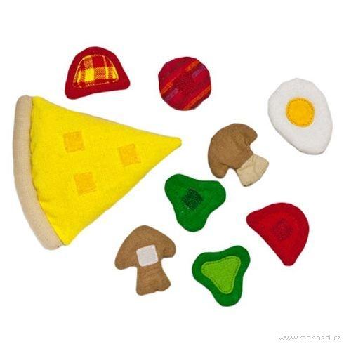 Hrajeme sinakuchaře – pizza - Maňásci