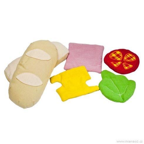 Hrajeme sinakuchaře – sendvič - Maňásci