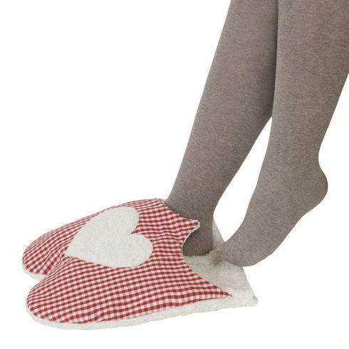 Zahřívací papuče BIObavlna – nahřívací polštářek prodospělé - Maňásci