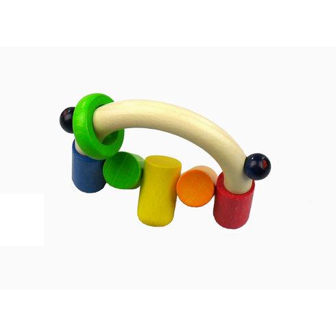Barry – dřevěná hračka doruky - Maňásci