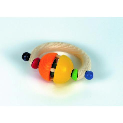 Rolly – dřevěná hračka doruky - Maňásci