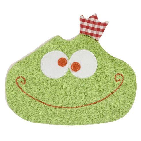 Žabka BIObavlna – nahřívací polštářek, třešňové pecky - Maňásci