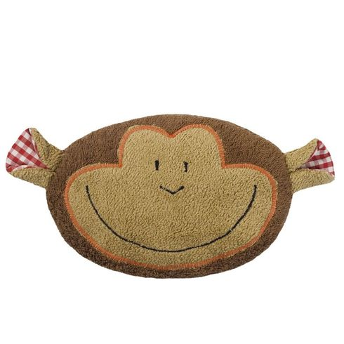 <strong>Výprodej</strong> Opička BIObavlna – nahřívací polštářek, třešňové pecky - Maňásci