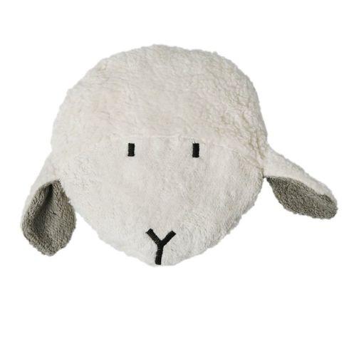 Ovečka šedá BIObavlna – nahřívací polštářek  - Maňásci