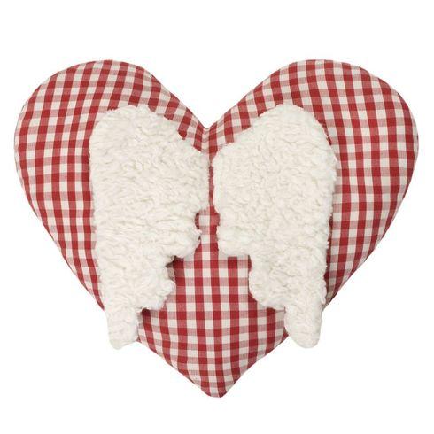 Srdíčko BIObavlna – nahřívací polštářek, třešňové pecky - Maňásci