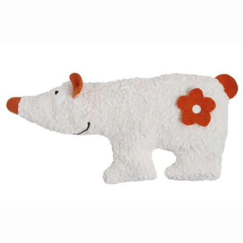 Lední medvídek BIObavlna – nahřívací polštářek  - Maňásci