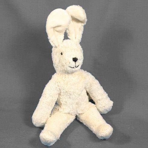 Zajíček bílý – plyšová hračka mazlíček - Maňásci