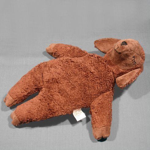 Ovečka malá hnědá – plyšové zvířátko +nahřívací polštářek, třešňové pecky - Maňásci
