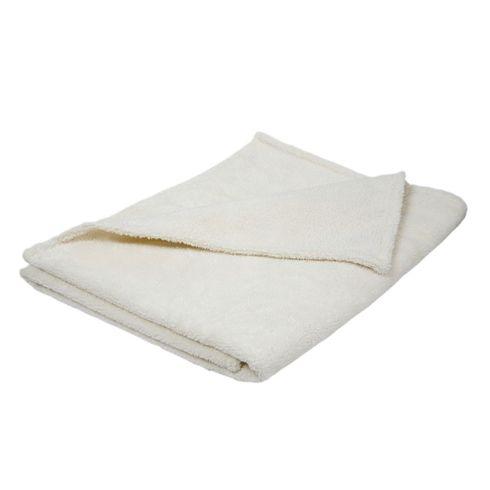 <strong>Výprodej</strong> Bílá XLbavlněná přikrývka prodospělé - Maňásci