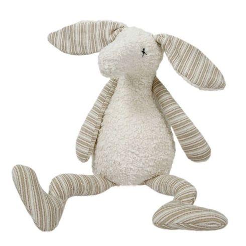 Jonatán béžový – plyšová hračka mazlíček BIObavlna - Maňásci