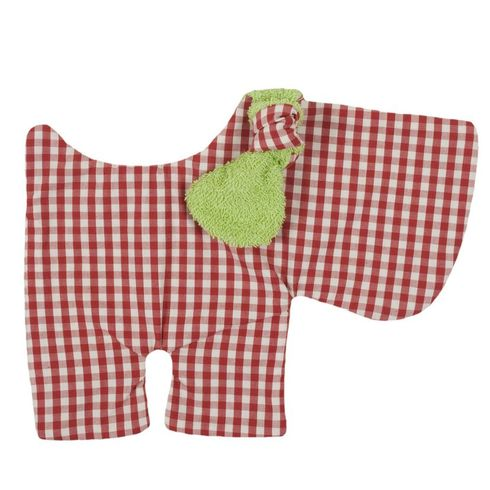<strong>Výprodej</strong> Pejsek zelený BIObavlna – mazlíček usínáček - Maňásci