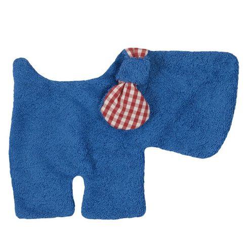 Pejsek modrý BIObavlna – mazlíček usínáček - Maňásci