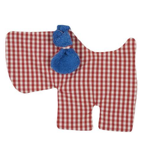 <strong>Výprodej</strong> Pejsek modrý BIObavlna – mazlíček usínáček - Maňásci