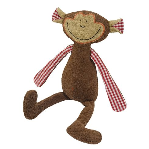 Hnědá opička BIObavlna – mazlíček - Maňásci