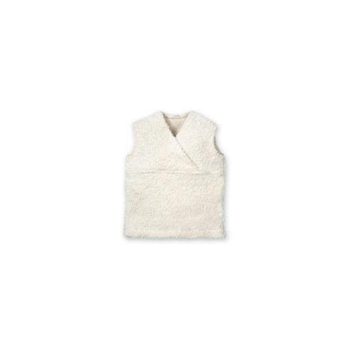Bílá vestička BIObavlna – oblečení proděti vel. 80 - Maňásci