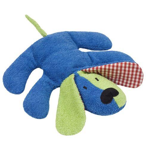 Barevný pejsek BIObavlna – mazlíček plyšová hračka - Maňásci