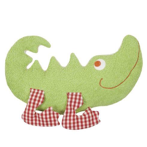 Krokodýl BIObavlna – mazlíček plyšová hračka - Maňásci