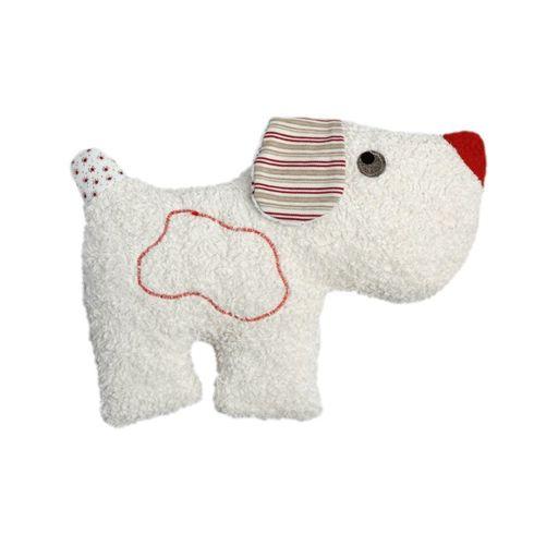 Pejsek – plyšová hračka mazlíček schrastítkem BIObavlna - Maňásci