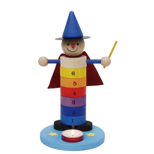 <strong>Výprodej</strong> Malý narozeninový kouzelník – dekorace - Maňásci