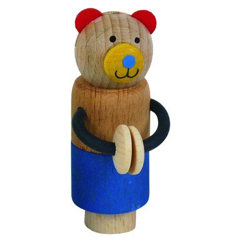 Happy tančící medvídek – doplňky kdekoracím - Maňásci
