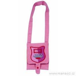 Dětská taška přes rameno panenka