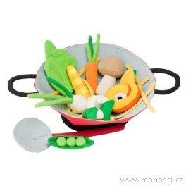Hrajeme sinakuchaře – pánev wok