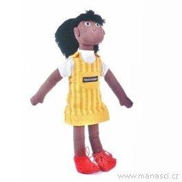 Panenka Tina seskříní naoblečky