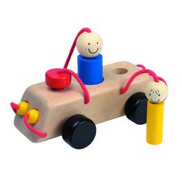 *AKCE* Dřevěné autíčko nacesty – hračka doruky