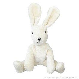 *AKCE* Zajíček bílý – plyšová hračka mazlíček