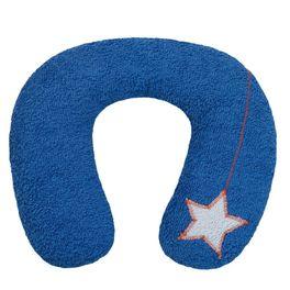 *AKCE* <strong>Výprodej</strong> Šíjový polštářek proděti modrý 9+BIObavlna
