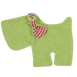 Pejsek zelený BIObavlna – mazlíček usínáček