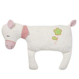 Bílá ovečka BIObavlna – mazlíček plyšová hračka
