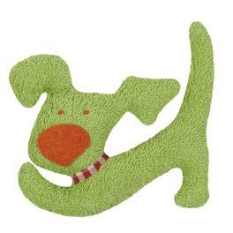 *AKCE* Zelený pejsek BIObavlna – mazlíček schrastítkem