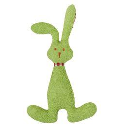 *AKCE* Zelený zajíček BIObavlna – mazlíček schrastítkem